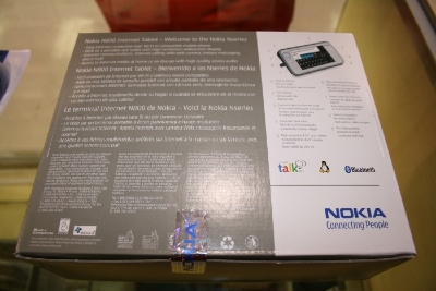 Nokia N800 Internet Tablet Unboxed