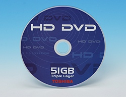 Triple Layer HD-DVD-ROM