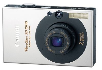 Canon PowerShot SD1000 Digital ELPH Camera