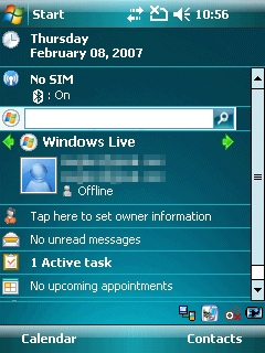 Windows Mobile 6 Professional
