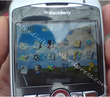RIM Blackberry 8300 Daytona with WiFi