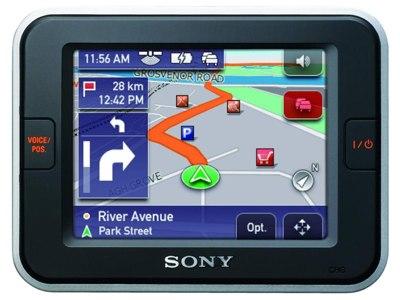 Sony NV-U72T, NV-U52 GPS