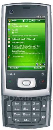 HTC P5500 (HTC Nike) PDA Phone