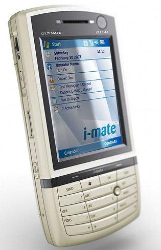 i-mate Ultimate 8150 PDA Phone
