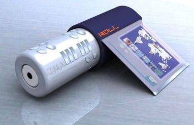 Roll Phone: World's Shortest Phone