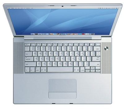 Apple MacBook Pro with Santa Rosa