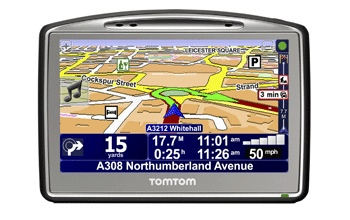 TomTom GO 520 GPS Device