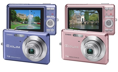 Casio EXILIM Zoom EX-Z77 Digital Camera