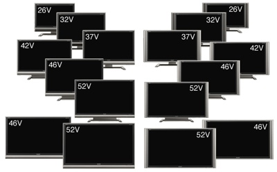 Sharp AQUOS G Series LCD TVs