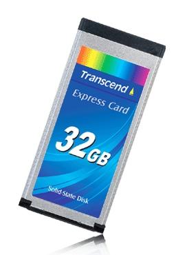 Transcend ExpressCard Solid State Disk