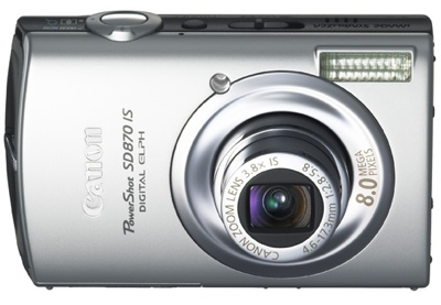 Canon PowerShot SD870 IS Digital ELPH Camera