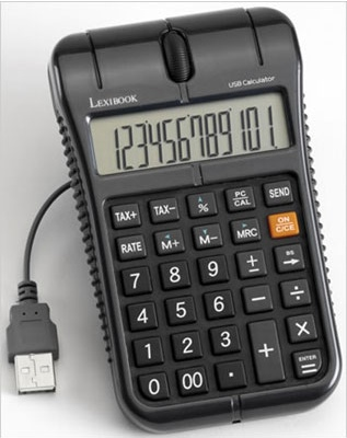 Lexibook CU50 Mouse Calculator