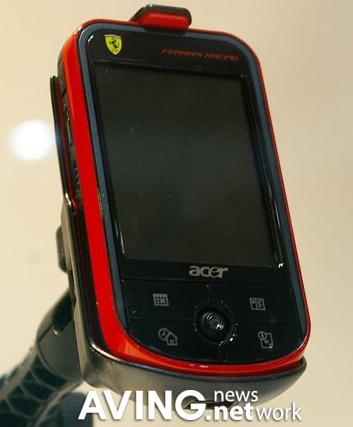 Acer Ferrari Racing GPS Pocket PC