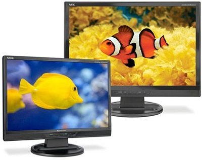 NEC AccuSync LCD19WMGX, LCD22WMGX, LCD24WMCX LCDs