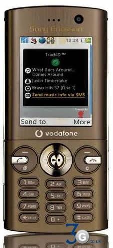 Sony Ericsson V640i for Vodafone