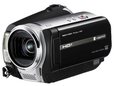 Toshiba gigashot A100F and K80H HD Camcorder