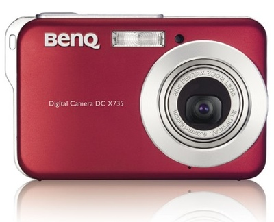 BenQ DC X735 Ultra Slim Camera