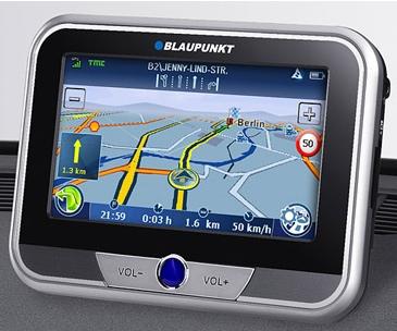 Blaupunkt TravelPilot Lucca 5.3 GPS
