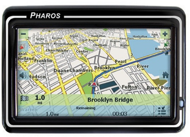 Pharos Drive GPS 250 and 150 GPS