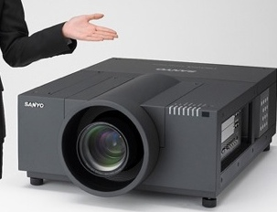 Sanyo LP-XF70 Dual-lamp LCD Projector
