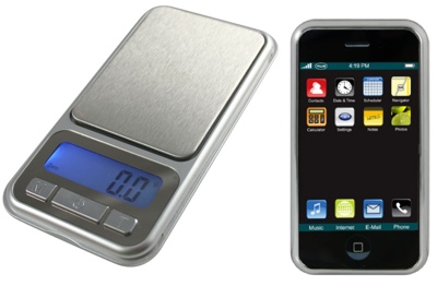 American Weigh CP3-500 - iPhone-like Scale