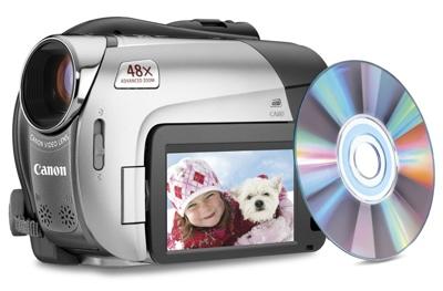 Canon DC330 DVD Camcorder