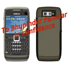Nokia Liam Smartphone with QWERTY