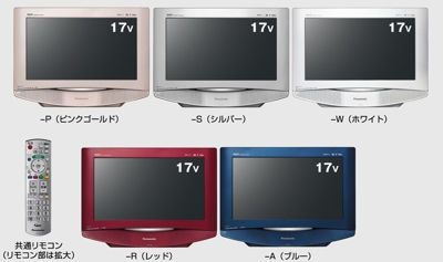 Panasonic TH-17LX8 LCD TV