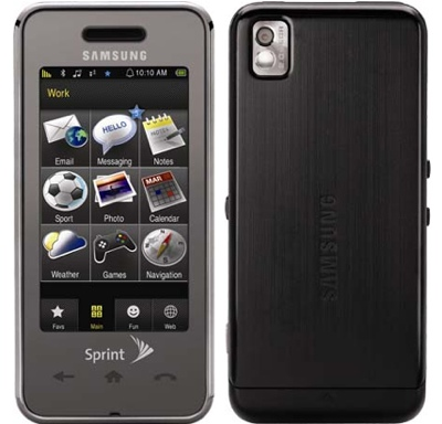 Samsung SPH-M800 for Sprint