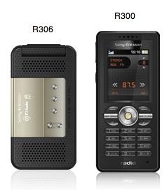 Sony Ericsson R300 Radio and R306 Radio Cellphones