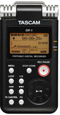 Tascam DR-1 Voice Recorder / Music Player