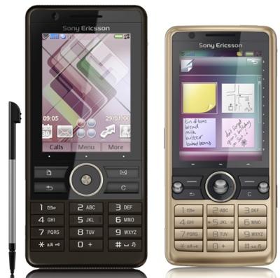 Sony Ericsson G700 and G900 Smartphones