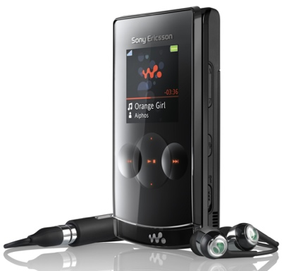 Sony Ericsson W980 Walkman Phone