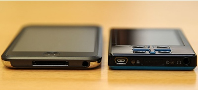 Toshiba gigabeat T802 Media Player