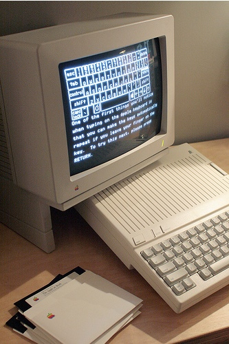 Apple IIc Unboxed in 2008