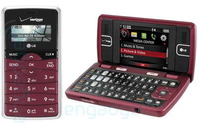 LG enV2 VX9100 for Verizon