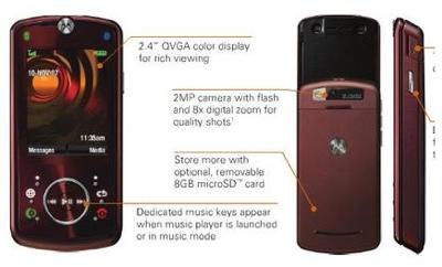 Motorola Z9 Slider Phone
