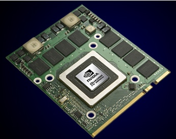 nVidia Quadro FX 3600M Professional GPU