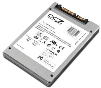 OCZ 32, 64GB SATA II SSDs