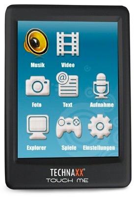 Technaxx TouchMe Touchscreen PMP