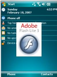 Windows Mobile 6 gets Flash Lite