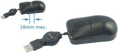 Adjustable USB Mini Mouse