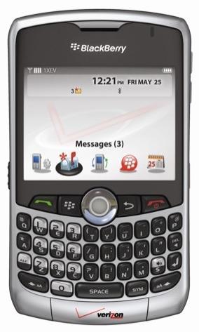 BlackBerry Curve 8330 for Verizon