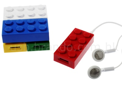 HOMADE MP3 i-Player looks like LEGO