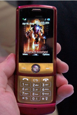 LG Shine Iron Man Special Edition