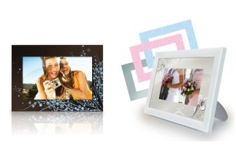 Memorex Special Occasions and Floral Digital Photo Frames