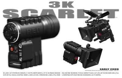 Red 3K Scarlet Camera