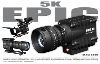 RED 5K EPIC Camera