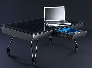 SOLo - Solar Powered Table that Charges Your Gadgets