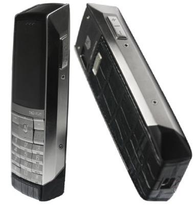 Tag Heuer Meridiist Phone is Croc-Skinned